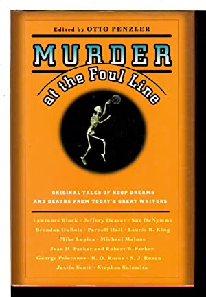 MURDER AT THE FOUL LINE.: Anthology, signed] Penzler, Otto, editor; Parnell Hall, signed.