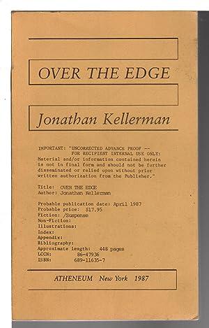 OVER THE EDGE.: Kellerman, Jonathan.