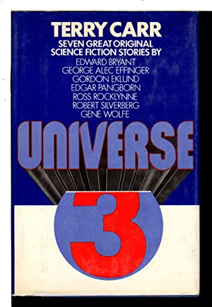 UNIVERSE 3.: Anthology, signed] Carr, Terry, editor ; Robert Silverberg and Gene Wolfe, signed.