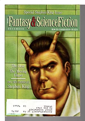 THE MAGAZINE OF FANTASY AND SCIENCE FICTION (F&SF) : THE STEPHEN KING SPECIAL ISSUE, December 199...