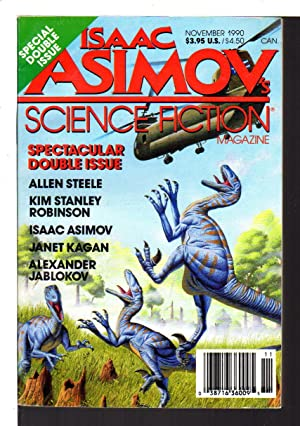 ASIMOV'S SCIENCE FICTION MAGAZINE: Vol. 14 No. 11 & 12 (#162 & 163) November 1990. Double Issue.