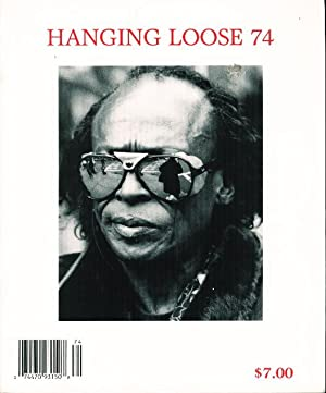 HANGING LOOSE 74.: Alexie, Sherman, signed] Robert Hershon and Dick Lourie, Editors.
