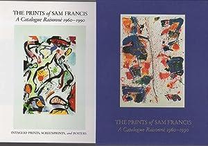 THE PRINTS OF SAM FRANCIS: A Catalogue Raisonne 1960-1990. Volume I: Lithographs; Volume II: ...