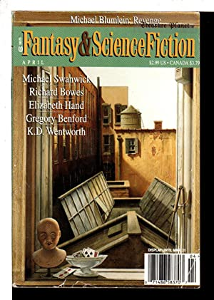 THE MAGAZINE OF FANTASY AND SCIENCE FICTION, APRIL 1998.