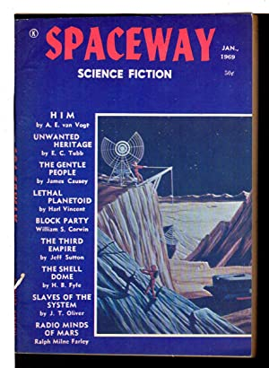 SPACEWAY SCIENCE FICTION, JANUARY 1969.