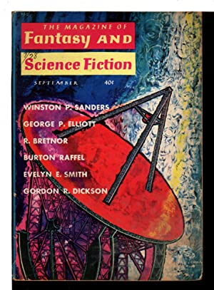 FANTASY AND SCIENCE FICTION, September 1960, Volume 19, Number 3.