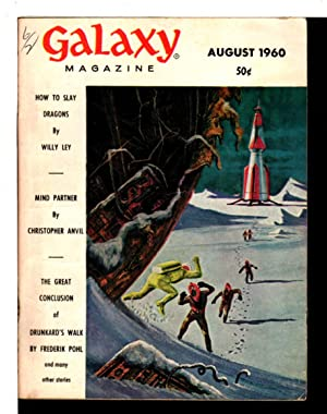 GALAXY SCIENCE FICTION, August 1960, Volume 18, Number 6.
