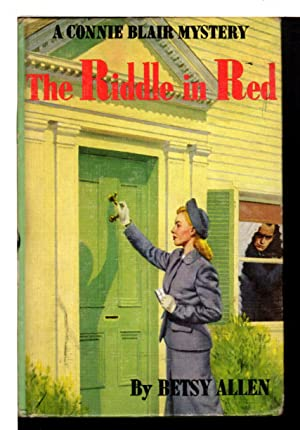 THE RIDDLE IN RED: Connie Blair Mystery,: Allen, Betsy (pseudonym