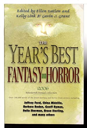 THE YEAR'S BEST FANTASY AND HORROR 2006: Anthology, signed] Datlow,