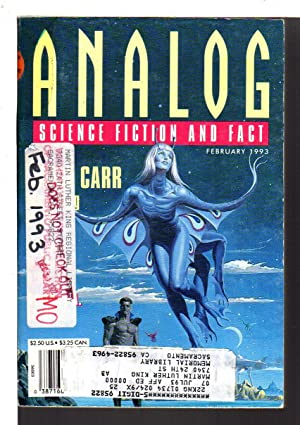 ANALOG: Science Fiction/ Science Fact: February 1993. Vol. CXIII (113), No. 3.