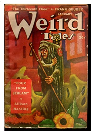 WEIRD TALES: Vol. 41, No. 2, January,: D. McIlwraith editor;