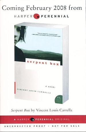 SERPENT BOX.: Carrella, Vincent Louis.