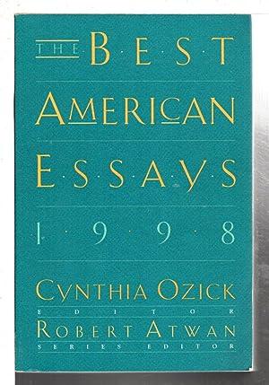 THE BEST AMERICAN ESSAYS 1998.: Ozick, Cynthia, editor