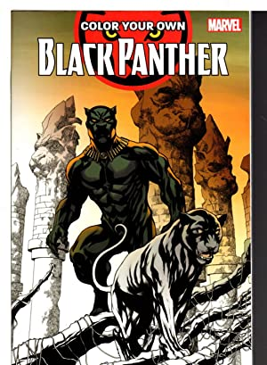 COLOR YOUR OWN BLACK PANTHER.