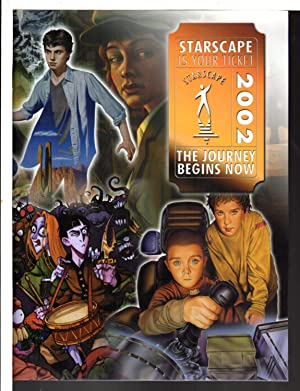 STARSCAPE 2002: The Journey Begins Now. Folder with promotional material.