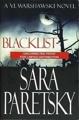 BLACKLIST.: Paretsky, Sara.