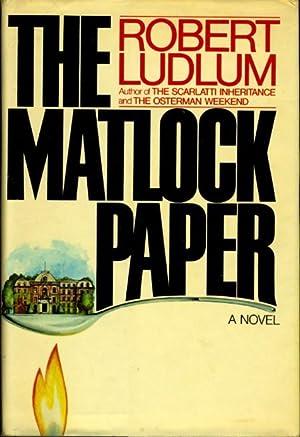 THE MATLOCK PAPER.: Ludlum, Robert.
