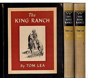 THE KING RANCH (2 volume set in: Lea, Tom.