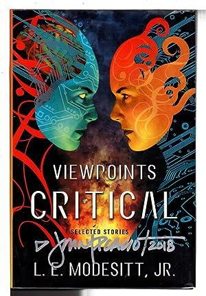 VIEWPOINTS CRITICAL: Selected Stories.: Modesitt, L.E. Jr. , John Picacio signed.