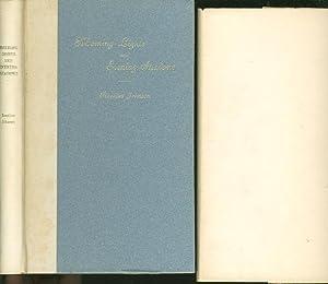 MORNING LIGHTS AND EVENING SHADOWS.: Johnson, Rossiter (1840-1931.)