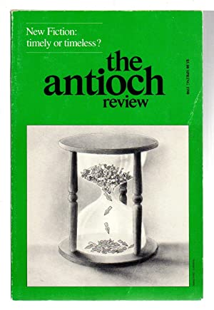 THE ANTIOCH REVIEW: Volume 48, Number 2, Spring 1990.: Nelson, Antonya and Louis Berney, signed)
