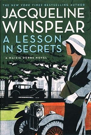 LESSON IN SECRETS.: Winspear, Jacqueline.