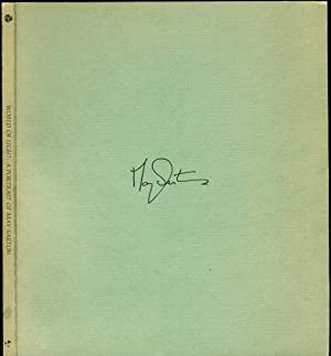 WORLD OF LIGHT. A Portrait Of May Sarton with Additional Poems and Comments.: Sarton, May, signed; ...
