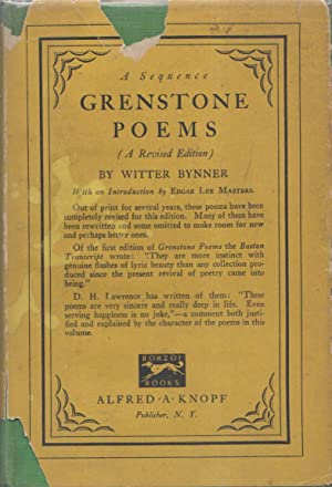 GRENSTONE POEMS: A Sequence.