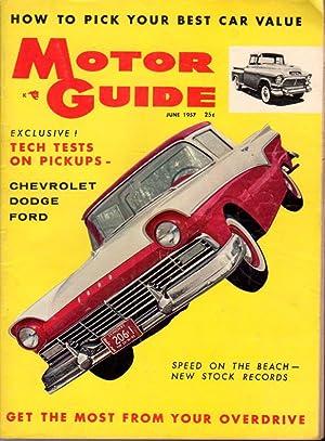 MOTOR GUIDE June 1957: Humphrey, Hugh, editor.
