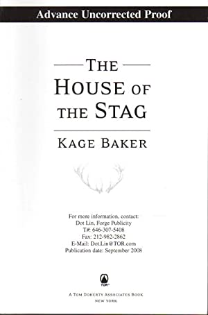THE HOUSE OF THE STAG.: Baker, Kage.