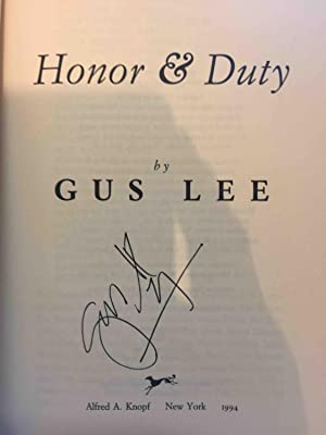 HONOR AND DUTY: Lee, Gus