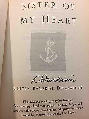 SISTER OF MY HEART.: Divakaruni, Chitra Banerjee