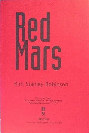 RED MARS: Robinson, Kim Stanley