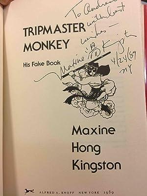 TRIPMASTER MONKEY: His Fake Book.: Kingston, Maxine Hong.