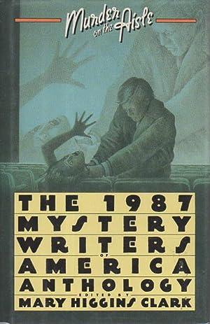 MURDER ON THE AISLE: 1987 Mystery Writers of America Anthology.: Anthology, signed] Clark, Mary ...
