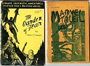 """THE GARDEN OF FEAR"""" in MARVEL TALES, July-August, 1934 Vol. 1, No. 2. and in """"The Garden ..."""