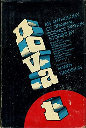 NOVA 1.: Gerrold, David, and Robert Silverberg, signed; Bradbury, Ray; Sallis, James; Westlake, ...