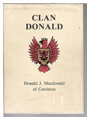 CLAN DONALD.: Macdonald, Donald J. Of Castleton.