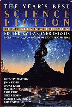 THE YEAR'S BEST SCIENCE FICTION: Fourteenth (14th) Annual Collection.: Anthology, signed] ...