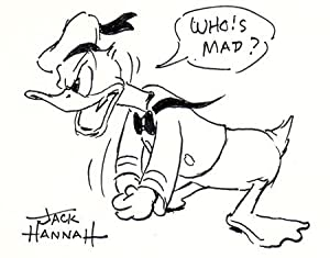 Donald Duck - 50 Years of Happy Frustration.: Walt Disney Productions.