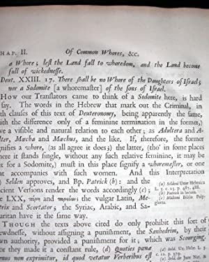 A View of Ancient Laws, Against Immorality and Profaneness; Under the following Heads: Lewdness, ...