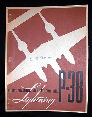 Pilot Training Manual for the P-38 Lightning.