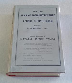 Trial of Alma Victoria Rattenbury and George Percy Stoner