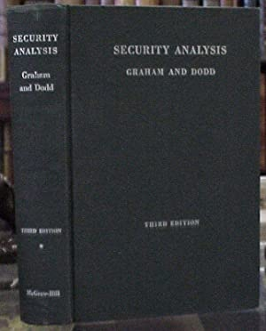 Security Analysis: Principles and Technique (Third edition): Graham, Benjamin &