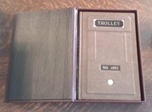 Trolley No. 1852 (SIGNED Limited Edition) M of 26 Copies SIGNED Lettered Edition