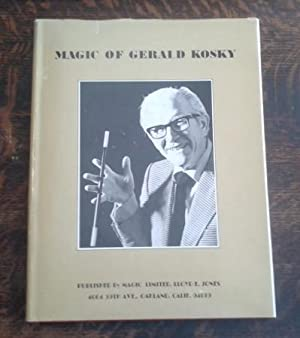 The Magic of Gerald Kosky Limited Edition #301 of 500 Copies