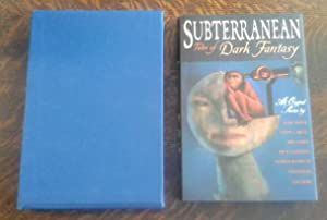 Subterranean (SIGNED Limited Edition) and Chapbook Thumbprint by Joe Hill Tales of Dark Fantasy #...
