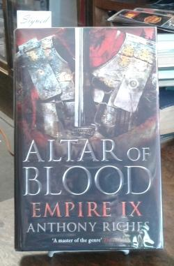 Altar of Blood (SIGNED First Edition) Empire: Volume Nine