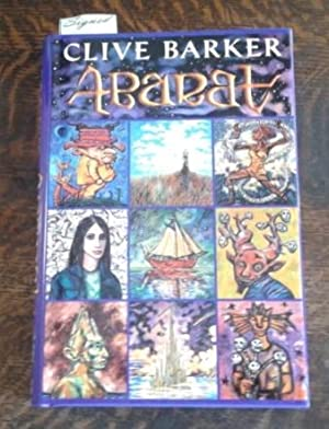 Abarat (SIGNED First Edition) Plus Signed Map of Abarat