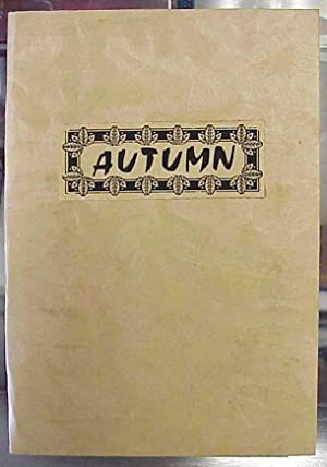 Autumn Verses for the Season: Atwater, Joan
